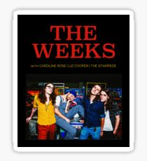 MQ06 THE WEEKS THE WEEKS Sticker