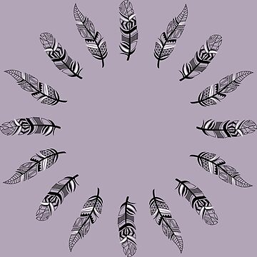 Feather Design by AnnaMBowman
