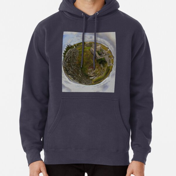 Ruins at Cashelnagor, County Donegal, Ireland Pullover Hoodie