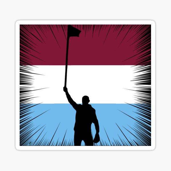 Classic Flagman Sticker