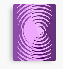 Purple Preference Metal Print