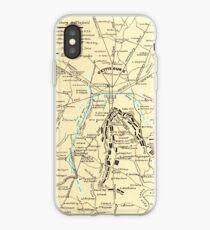 Civil War Maps 0455 Gettysburg battlefield Inverted iPhone Case