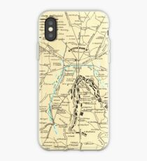 Civil War Maps 0455 Gettysburg battlefield Inverted iPhone Case