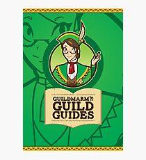 Guildmarm's Guild Guides! Photographic Print