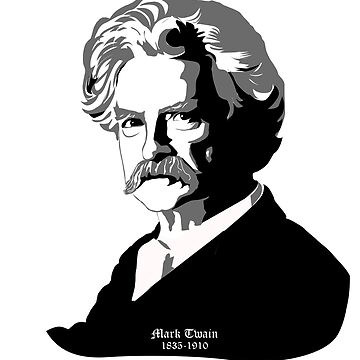 Mark Twain by CC-RED