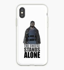 The Cheese Stands Alone iPhone Case