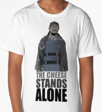 The Cheese Stands Alone Long T-Shirt