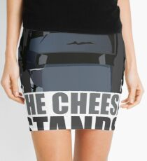 The Cheese Stands Alone Mini Skirt