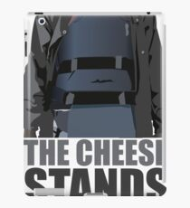 The Cheese Stands Alone iPad Case/Skin