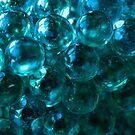 Blue abstract #1 by Thaddeus Zajdowicz
