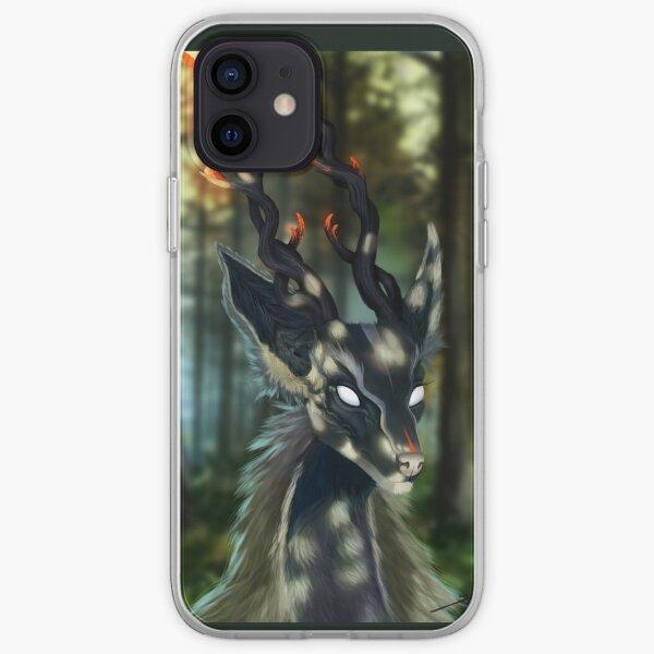 Deer Spirit iPhone Soft Case