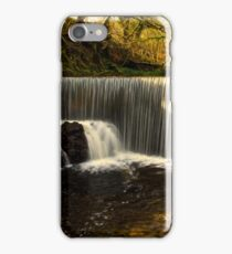 Calder Waterfall, Lochwinnoch iPhone Case/Skin