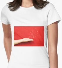fly music sound holding hand T-Shirt