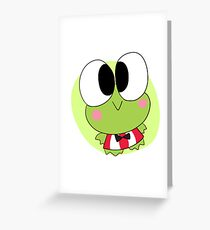 Sanrio greeting cards redbubble keroppi sanrio greeting card m4hsunfo