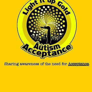 Light it up Gold for Âûtism Acceptance by -Au-