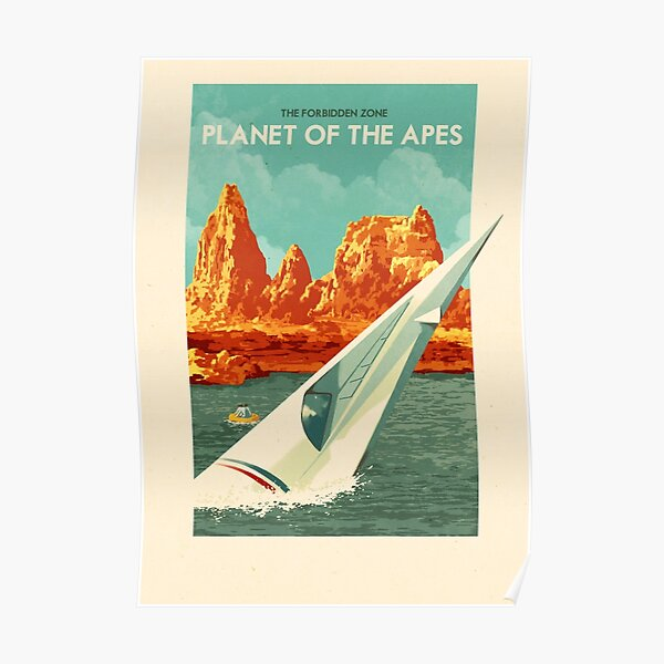Travel Posters - The Forbidden Zone, Planet of the Apes Poster