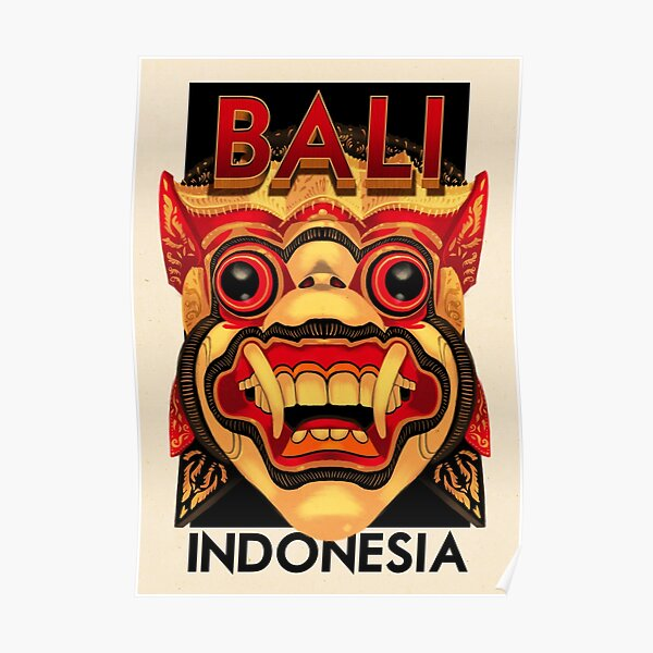 Travel Posters - Bali Indonesia Poster