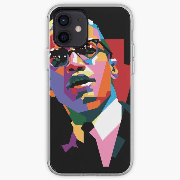 Malcolm X Coque souple iPhone