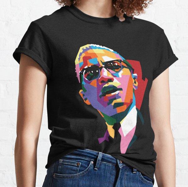 Malcolm X T-shirt classique