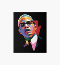 Malcolm X Art Board