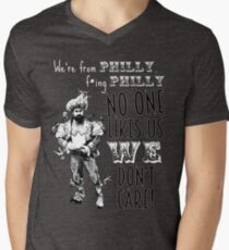 Jason Kelce - We're From Philly No One Likes Us We Don't Care Men's V-Neck T-Shirt