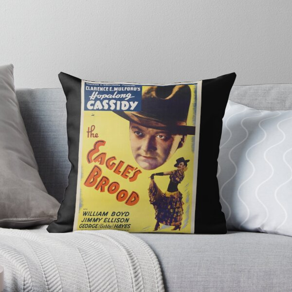 Film poster - 1935 film The Eagle's Brood Throw Pillow