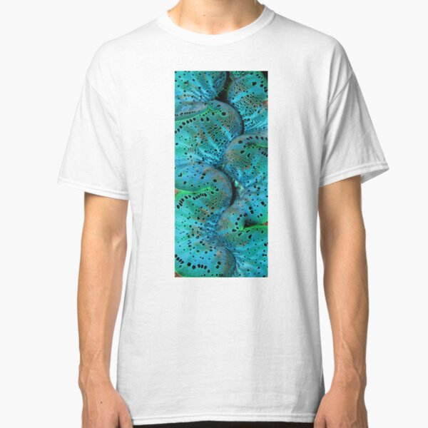 Sinusoidal in Blue Classic T-Shirt