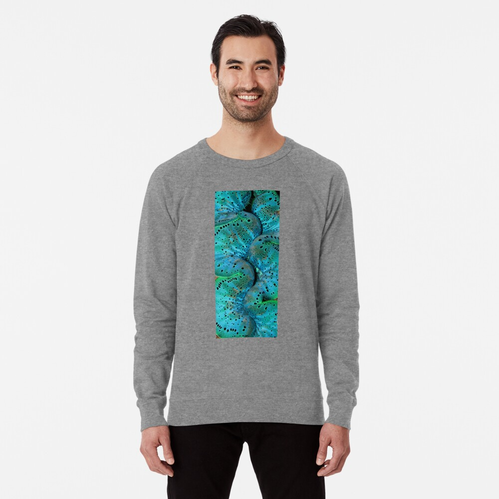 Sinusoidal in Blue Lightweight Sweatshirt