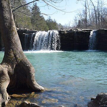 Waterfall by PirateParade