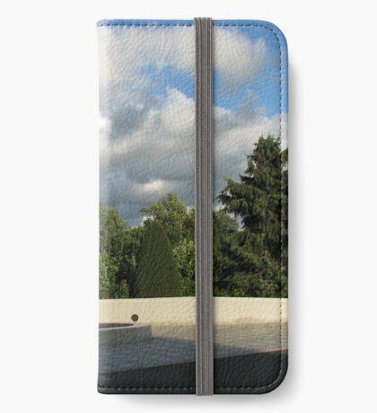 Ende des Tages iPhone Flip-Case