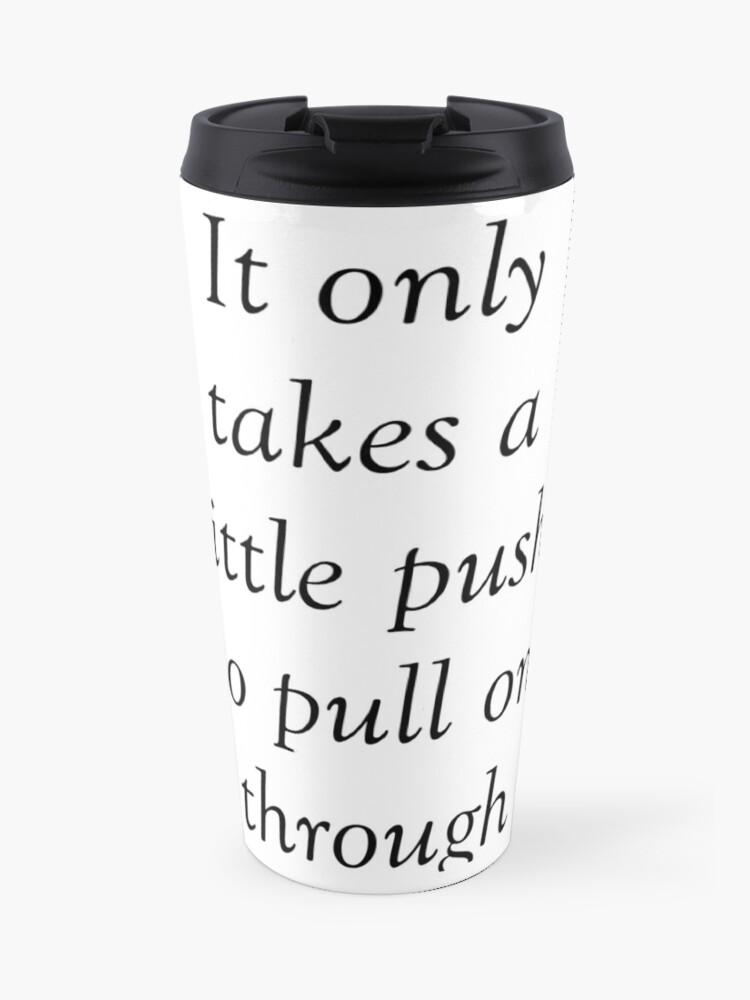 All Time Low 'Missing You' Lyrics   Travel Mug