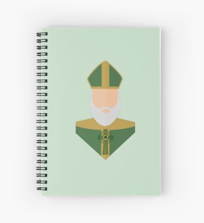 St. Patrick Spiral Notebook