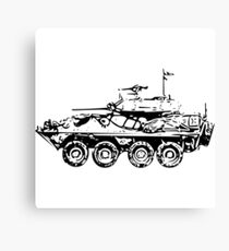 LAV - Light Armoured Infantry Under Shirt Canvas Print