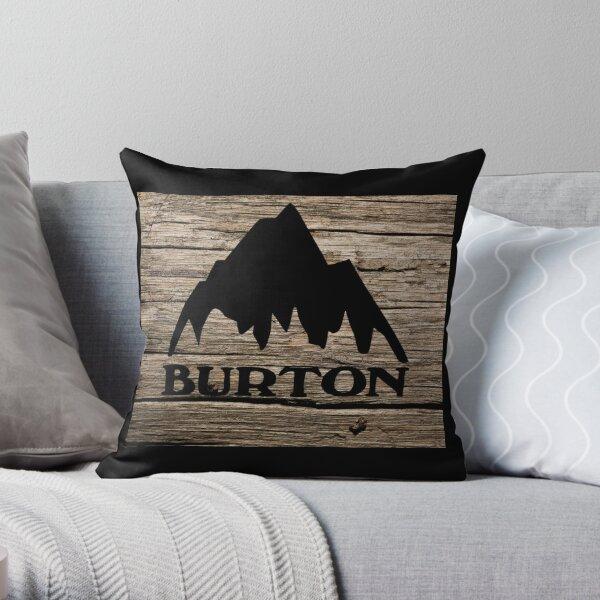 Burton wood  Throw Pillow