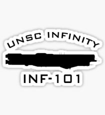 UNSC Infinity INF-101 Profile Sticker