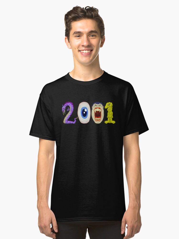 2001 Classic T-Shirt Front