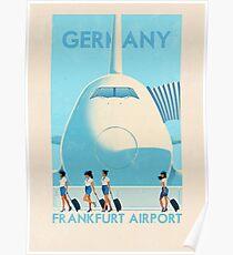 Reise Poster - Frankfurt Deutschland Poster