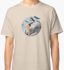 Pin-up Vintage Air Force de la seconde guerre mondiale T-shirt classique