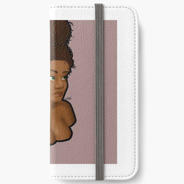 Black Beauty iPhone Wallet