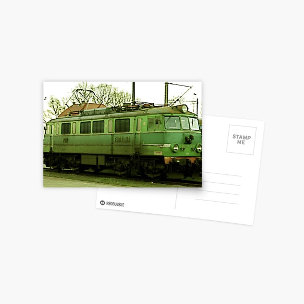 Polish Locomotive Postcard