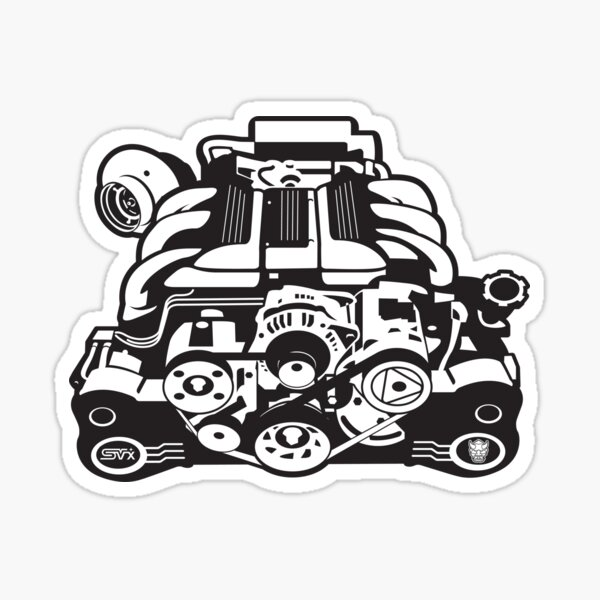 SVX NATION EG33 Sticker