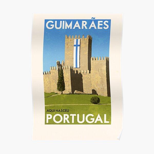 Travel Posters - Guimaraes Portugal Poster