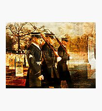 Tribute to the Fallen Photographic Print