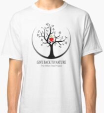 Give Back to Nature Logo - For Light Backgrounds Classic T-Shirt