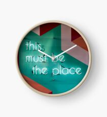 This Must Be The Place Clock