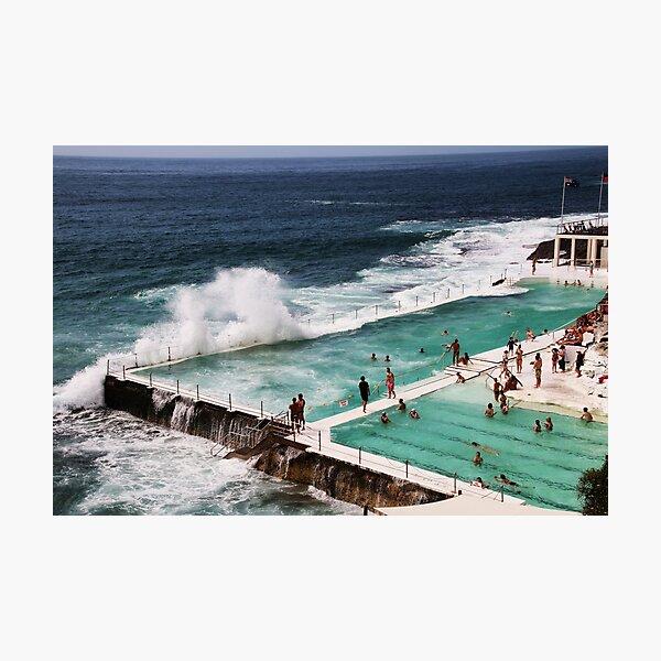The Icebergs At Bondi Beach Photographic Print