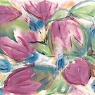 Tulip Abstract by Kathie Nichols