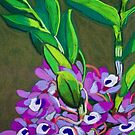 Wild orchids by marlene veronique holdsworth