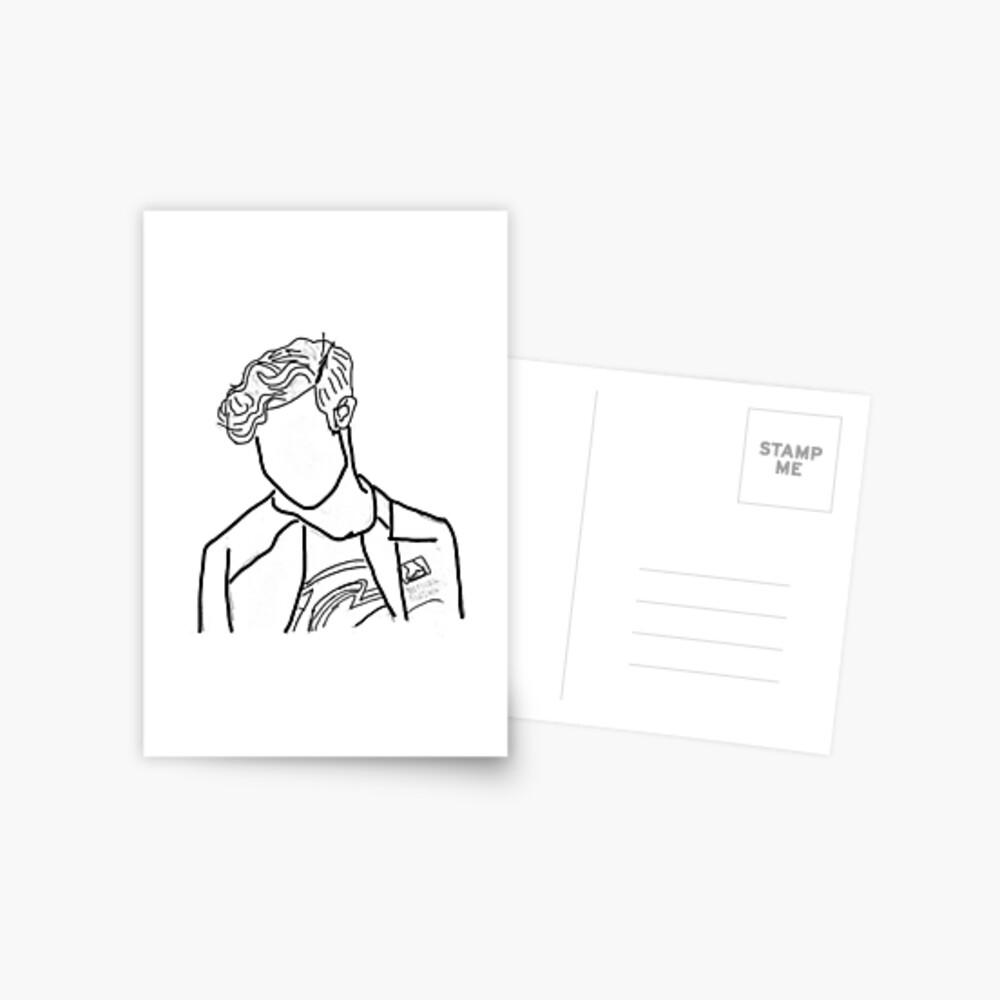 Nathan Chen Ausgeschnitten Postkarte