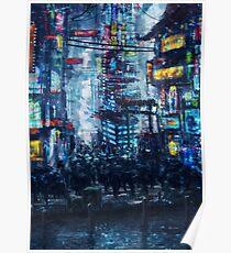 Póster Cyberpunk City